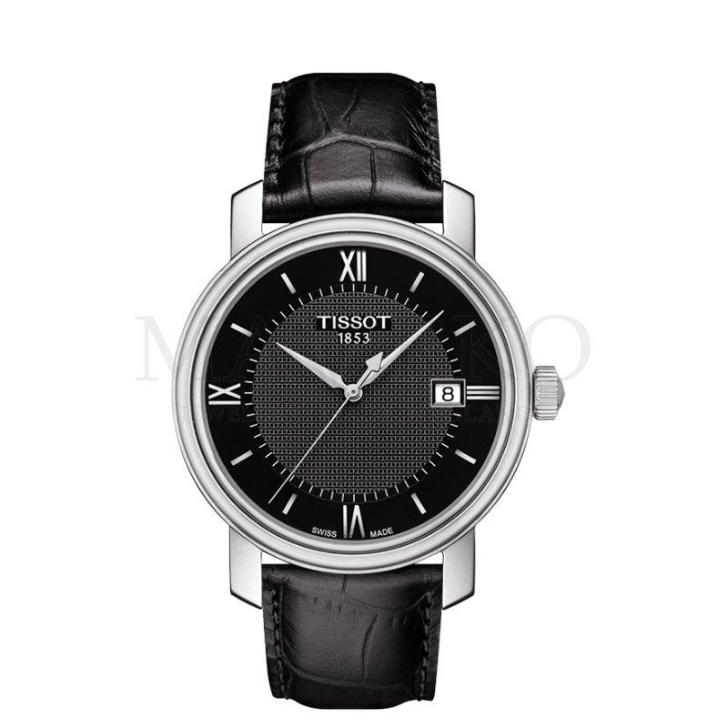 Tissot czarny męski zegarek