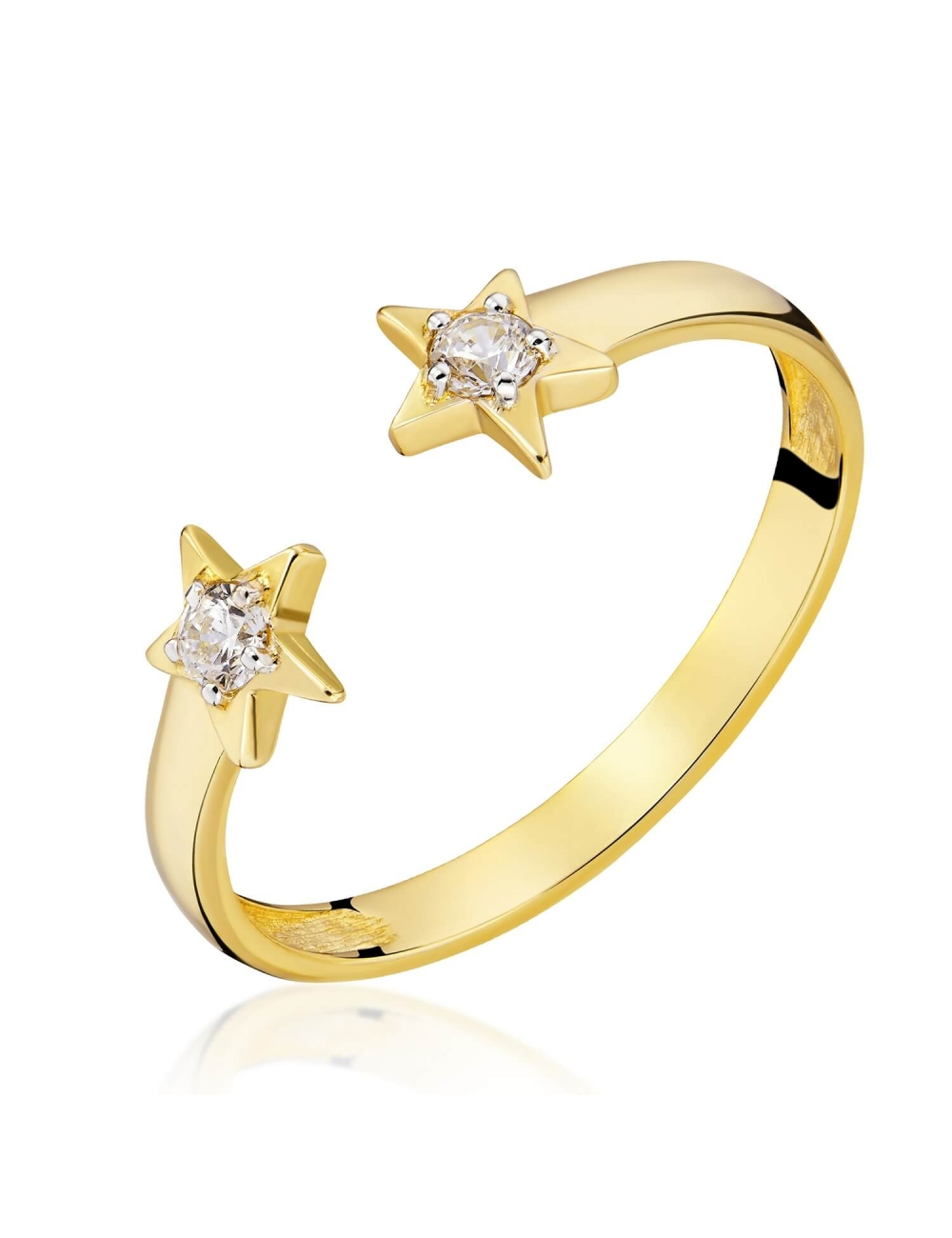 zloty pierścionek 585