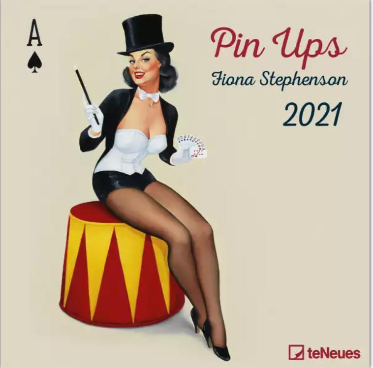 Dziewczyny-Pin-Ups-Girls-Kalendarz-Ścienny-2021-rok-Galeria-Plakatu3